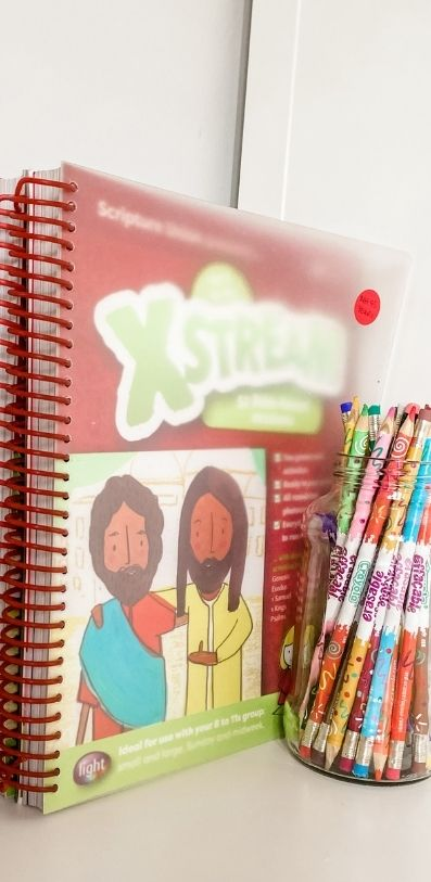 Resources for Home and Church - Picture of Sunday School curriculum