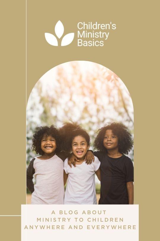 Children's Ministry Basics Blog Promo